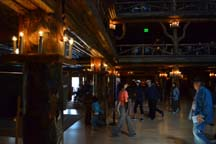 Old Faithful Inn Lobby